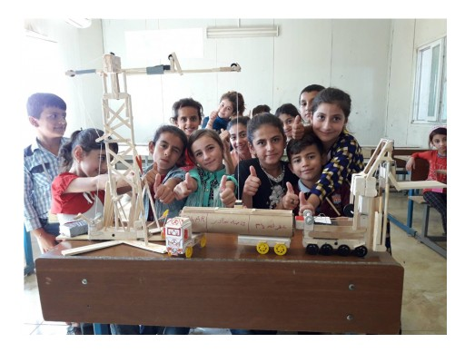 Iraqi Teachers Adopt KnowAtom to Create a Next Generation Science Experience for IDP Students K-8