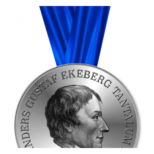Announcing the Winner of the Anders Gustaf Ekeberg Tantalum Prize 2018: Dr Yuri Freeman for 'Tantalum and Niobium-Based Capacitors'