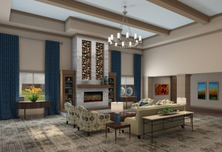 Discovery Village At Sandhill Living Room