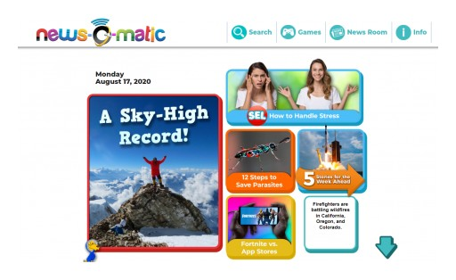 News-O-Matic Launches New Archives Feature for Back-to-School