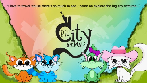 Big City Animals™ Launches Children's Interactive, Educational Travel Story Apps