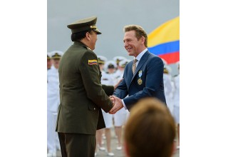 Mr. Miscavige presented with unprecedented award.