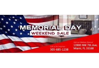 Call 305Beds to Inquire about the Memorial Day Weekend Sale.