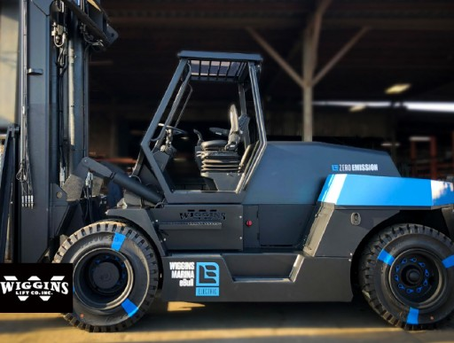 First High-Capacity Lithium Electric Marina Forklift Now Available Through XL Lifts / Wiggins Lift / Taylor Machine Works