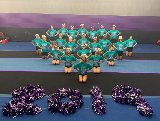 Greatmats Roll Out Cheerleading Mats, Help Anderson Invasion Cheer Prepare for Competition