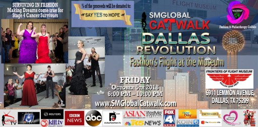 Advanced Cancer Patients Come From Their Chemo Chairs to Model on the Catwalk