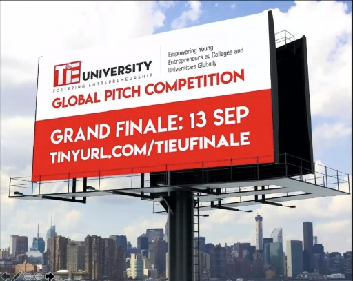 Aerodyme Technologies Wins TiE University Global Pitch Competition 2020
