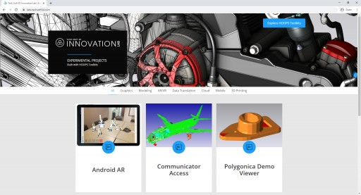 Tech Soft 3D Innovation Lab Showcases Advanced 3D Applications for Engineering