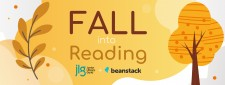 2020 Fall into Reading Challenge, presented by Beanstack and Junior Library Guild