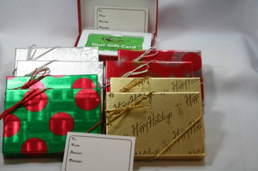 Unique Gift Card Giving With Customized Gift Boxes