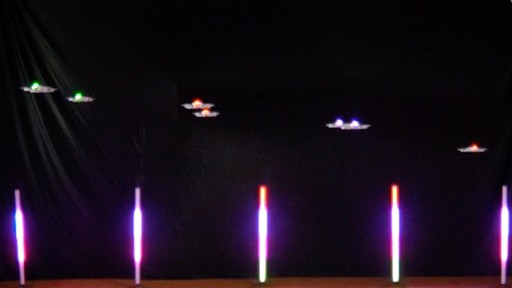 Lady Gaga Drone Show Creates Buzz for Indoor Drone Shows for Corporate Events