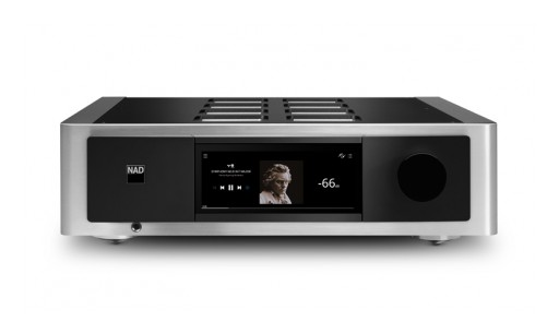 NAD Now Shipping Masters M33 BluOS Streaming DAC Amplifier