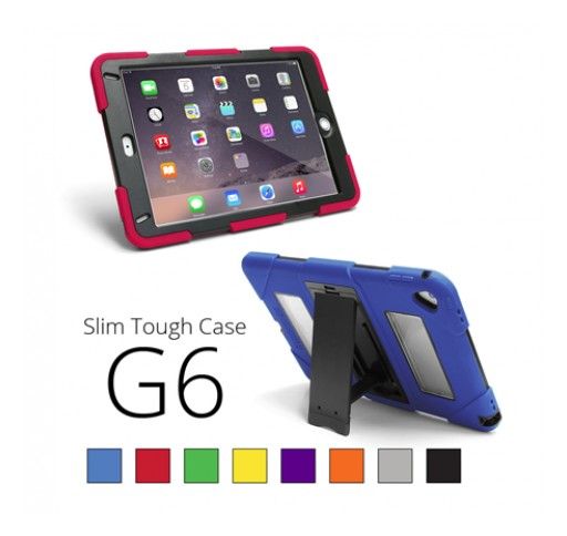 New Slim Tough Case for iPad Air 2 and iPad Pro from Sunrise Hitek in February 2017