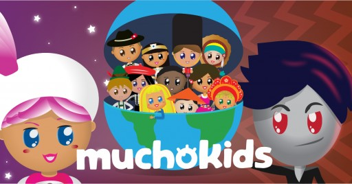 Muchokids Debuts New Sci-Fi Fantasy Series Featuring Characters From All Over the Globe Working Together to Overcome Adversity