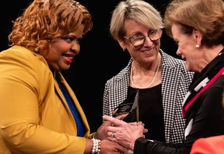 Sigma Gamma Rho Sorority salutes the Newseum and The Freedom Forum for commissioning a statue to honor its late sorority sister Alice Allison Dunnigan for her many achievements as a journalist, civil rights activist, author and educator.