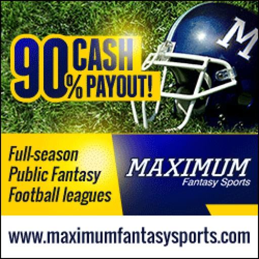 Maximum Fantasy Sports 2016 Fantasy Football PPR Mock Draft Results