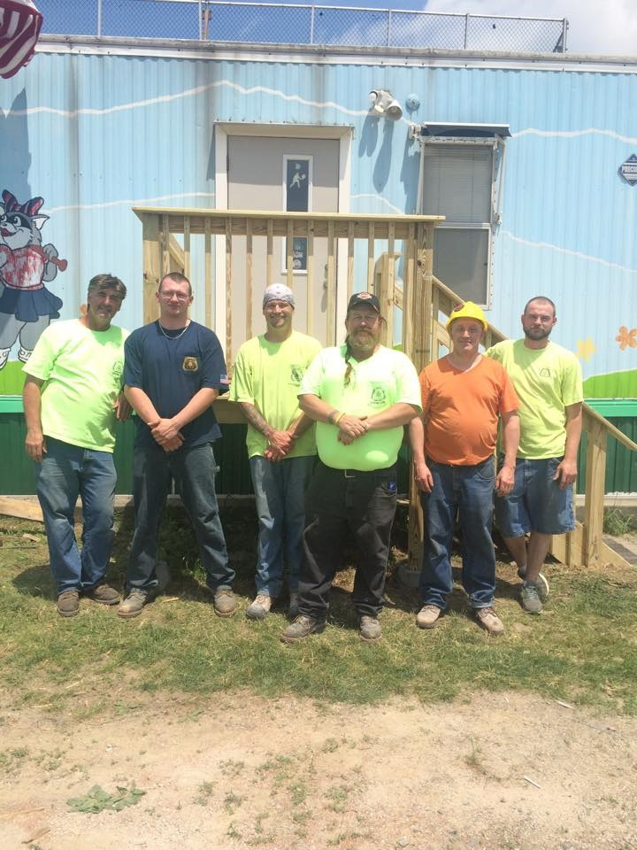 LOCAL 279 Union Carpenters Pitch in to Help Pitch4Kids ...