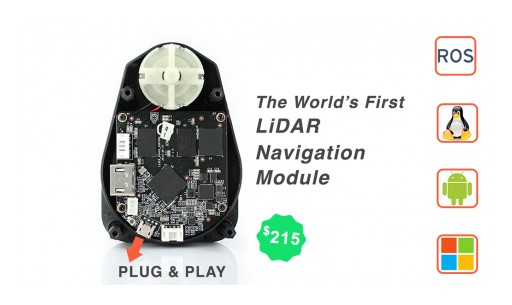 NaviPack Announces the Release of the Most Affordable and Useful LiDAR Navigation Module for Drones, Robots and Autonomous Devices