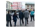 Volunteers distributed copies of The Truth About Marijuana booklets around Pike Place Market in Seattle, Washington.