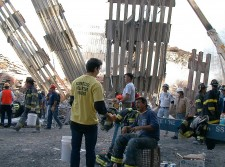 Some 800 Volunteer Ministers served at Ground Zero.