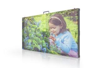 YUCHIP Transparent Glass LED Screen