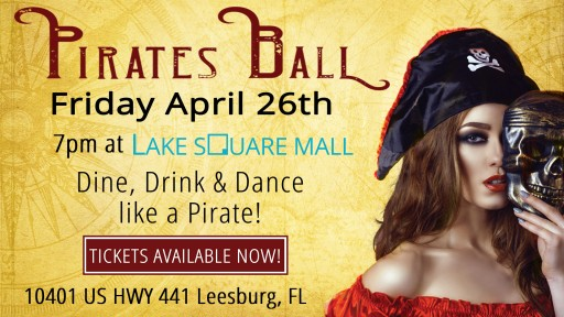 Pirate Festival Sets Sail at the Lake Square Mall
