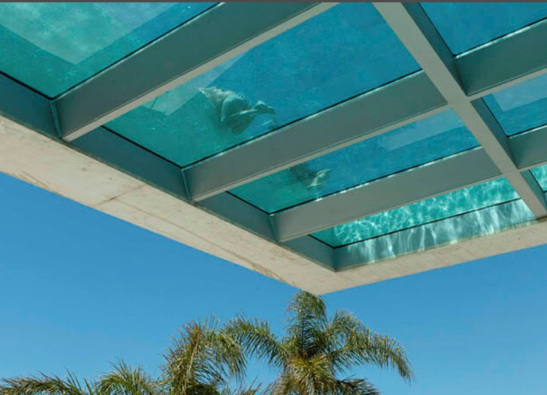 Innovative Acrylics Installs Glass Bottom Pool in ...