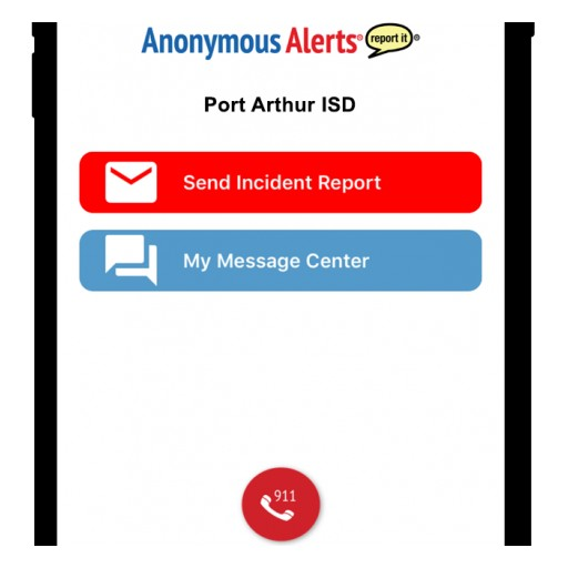 Anonymous Alerts App's Usage by Port Arthur ISD Raises Awareness Against Bullying