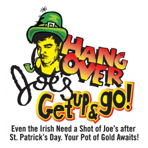 Number One International Anti-Hangover Recovery Drink, Celebrates 7th Year of National Hangover Joe's Day - March 18