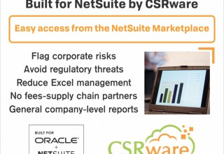 NetSuite and CSRware Conflict Minerals Management