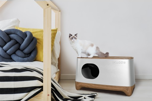 Fully-Automated iKuddle Smart Kitty Litter Box Launches on Kickstarter