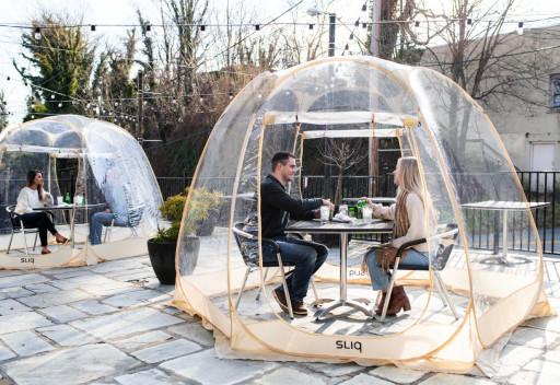 SLIQ Bubble Tent: The World is Your Bubble