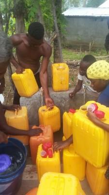 Community Water system Installation