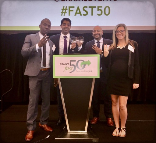 ReVamp Electronics Places #3 on Chicago Crain's Fast 50
