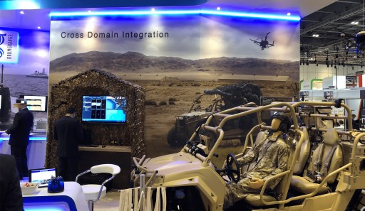 Hoverfly in the Air at DSEI Last Week With New Partnership