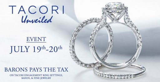BARONS Jewelers Hosts Tacori Unveiled Event With Extended Selection of Bridal and Fashion Jewelry