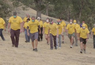 Volunteer Ministers providing relief in Northern California