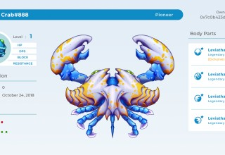 Pioneer CryptantCrab (Legendary, Pre-Sale Exclusive Full Set)