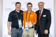 Meowijuana receiving Award