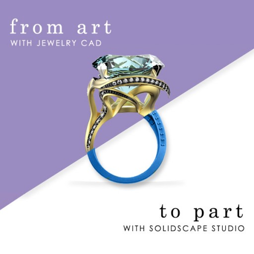 Jewelry Bundle Package Announced for Solidscape and Jewelry CAD Software