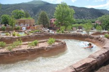 Shoshone Chutes at Glenwood Hot Springs Resort