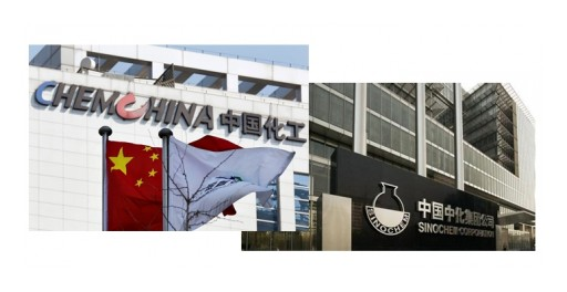 CCM: Who Will Benefit if SinoChem and ChemChina Really Get Merged