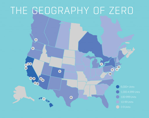 TEAM ZERO Inventory Shows Robust Growth and Pipeline in Zero Energy Housing Market