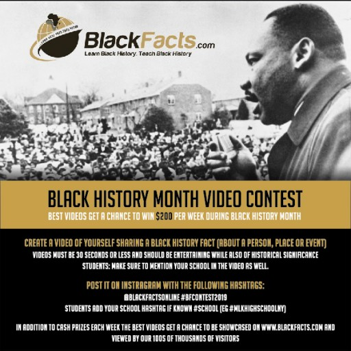 This February, BlackFacts.com Allows Parents/Teachers to Give the Gift of Black History and Cultural Achievement to Their Children/Students