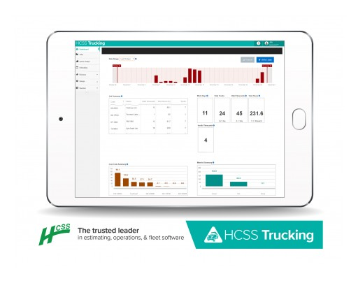 Free HCSS Trucking Software Eliminates Paper Truck Tickets at No Cost During COVID-19 Crisis