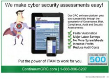 Continuum GRC IT Audit Machine ITAM GRC Software