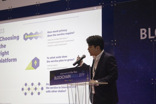 YGGDRASH Introduces a Glimpse of the Future With Interchain at Blockchain Seoul 2019