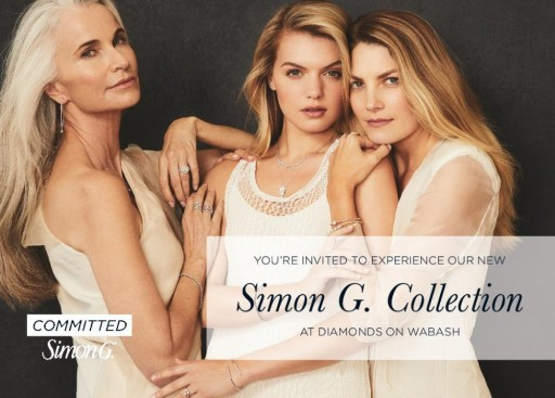 Diamonds on Wabash to Host Simon G. Celebrity Designer Signature Event Next Week