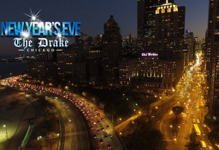 New Year's Eve Party 2018 at the Drake Hotel Chicago - Drone Shot