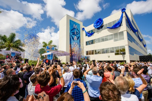 A Magical Welcome Greets Miami's New Church of Scientology